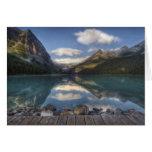 Lake Louise at sunrise, Banff National Park, Card