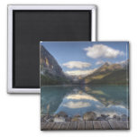 Lake Louise at sunrise, Banff National Park, Refrigerator Magnets