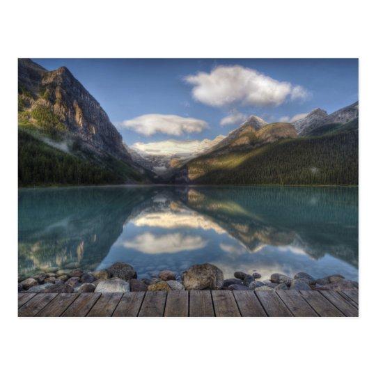 Lake Louise at sunrise, Banff National Park, Postcard