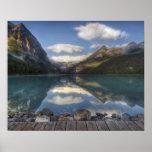 Lake Louise at sunrise, Banff National Park, Poster
