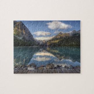 Lake Louise at sunrise, Banff National Park, Puzzle