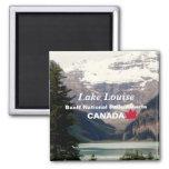 Lake Louise/Banff National Park, Alberta Canada Fridge Magnet