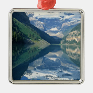Lake Louise, Banff National Park, Alberta, Metal Ornament