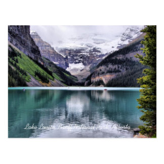 Lake Louise Banff National Park Alberta Postcard