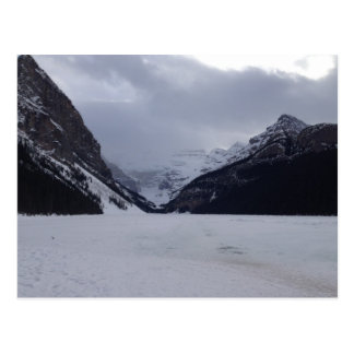 Lake Louise before the Thaw Postcard