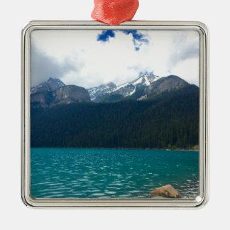 Lake Louise Canada Metal Ornament