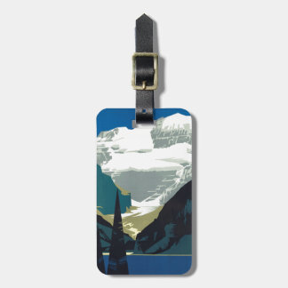 Lake Louise Canadian Rockies Canada Luggage Tag