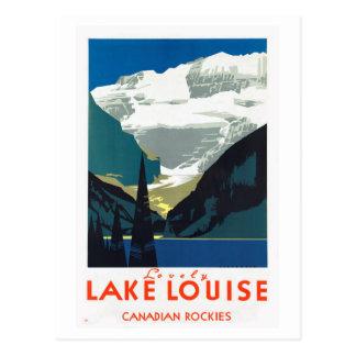 Lake Louise Canadian Rockies Canada Postcard