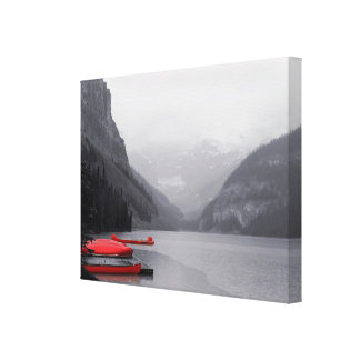 Lake Louise Canvas Wrap Stretched Canvas Prints