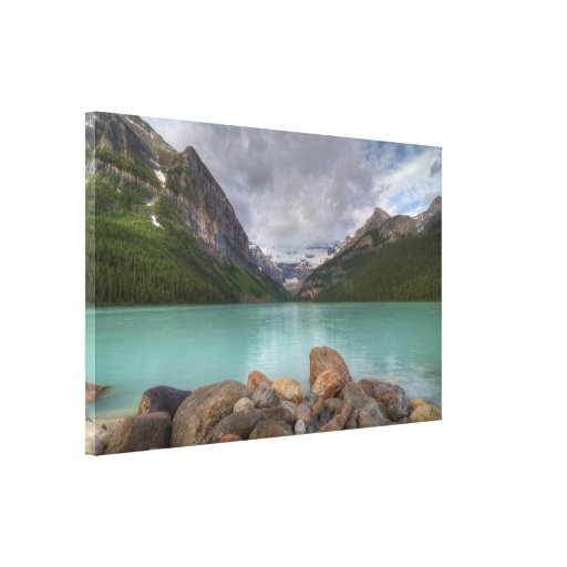 Lake Louise Impresiones En Lona