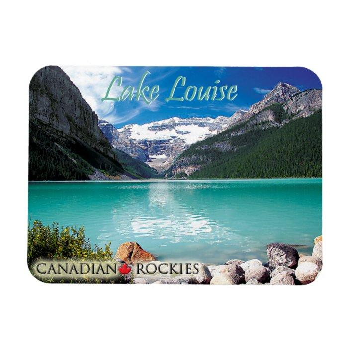 Souvenir Fridge Magnet Banff Canada Lake
