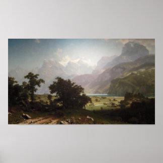 Lake Lucerne Print