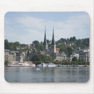 Lake Lucerne, Vierwaldstattersee, Switzerland Mouse Pad
