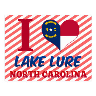 Lake Lure, North Carolina Postcard