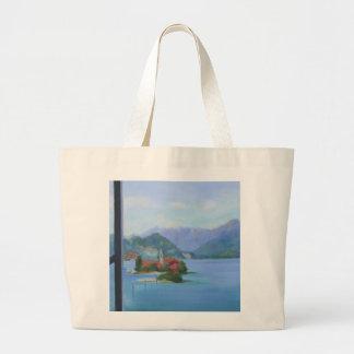 """""""Lake Maggiore"""" Large Tote Bag"""