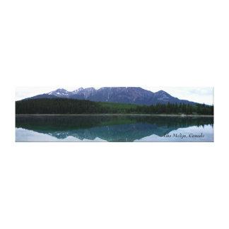 lake Malign, Canada Canvas Print
