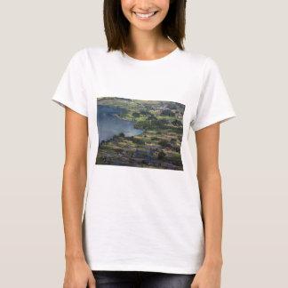 Lake Maninjau caldera lake in West Sumatra T-Shirt