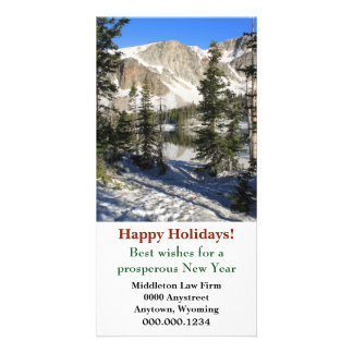 Lake Marie Wyoming Corporate Christmas Card