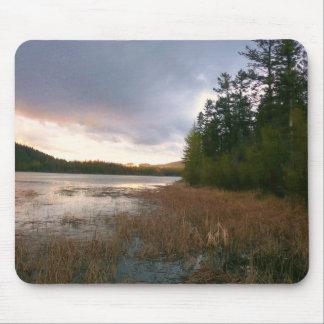 Lake Marsh Landscape Mousepad