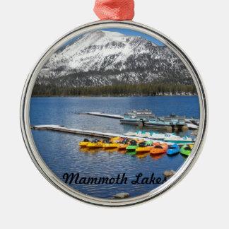 Lake Mary- Mammoth, CA Metal Ornament