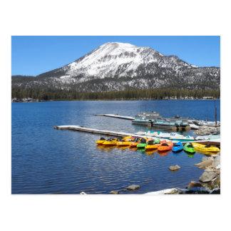 Lake Mary- Mammoth, CA Postcard