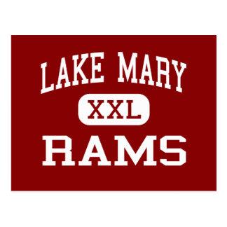 Lake Mary - Rams - High School - Lake Mary Florida Postcard