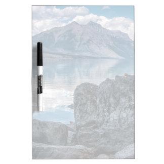 Lake McDonald Dry Erase Board