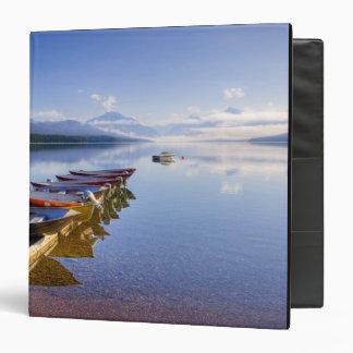 Lake McDonald, Glacier National Park, Montana, 3 Ring Binders