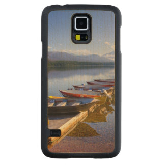 Lake McDonald, Glacier National Park, Montana, Carved Maple Galaxy S5 Slim Case