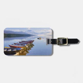Lake McDonald, Glacier National Park, Montana, Tags For Luggage