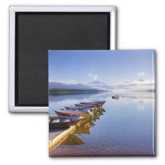 Lake McDonald, Glacier National Park, Montana, Fridge Magnets