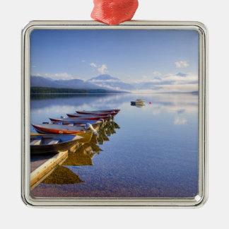 Lake McDonald, Glacier National Park, Montana, Metal Ornament