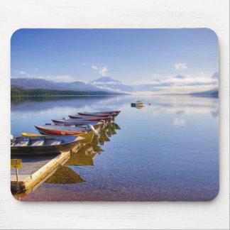 Lake McDonald, Glacier National Park, Montana, Mouse Pad
