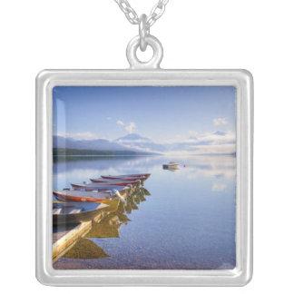 Lake McDonald, Glacier National Park, Montana, Square Pendant Necklace