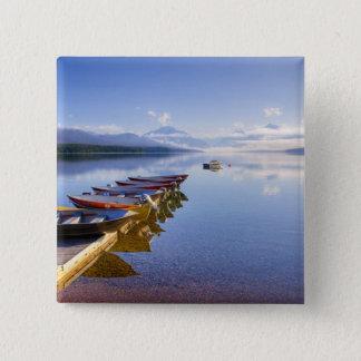Lake McDonald, Glacier National Park, Montana, Pinback Button