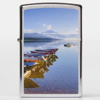 Lake McDonald, Glacier National Park, Montana, Zippo Lighter