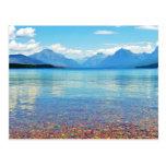 Lake McDonald Glacier National Park, Mt Post Card