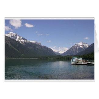 Lake McDonald Glacier Park Card