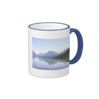 Lake McDonald Glacier Park Ringer Coffee Mug