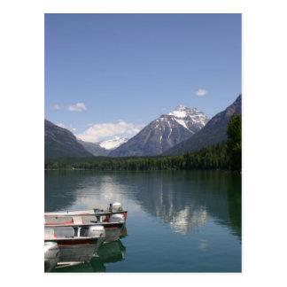Lake McDonald Glacier Park Post Card