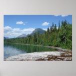 Lake McDonald Glacier Park Poster