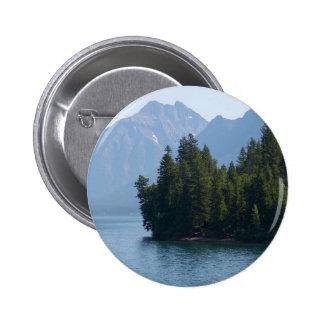 Lake Mcdonald In Glacier National Park Montana Pin