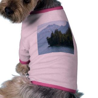 Lake Mcdonald In Glacier National Park Montana Pet Clothing