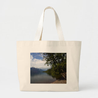 Lake Mcdonald Is The Largest Lake In Glacier Natio Bag