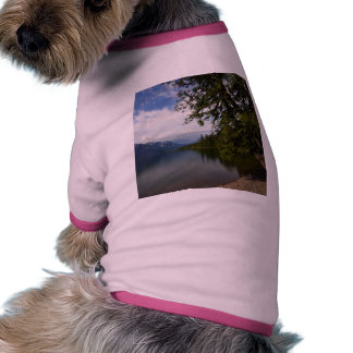 Lake Mcdonald Is The Largest Lake In Glacier Natio Dog T Shirt