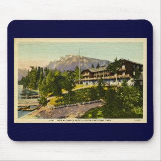 Lake McDonald Lodge Glacier National Park Mouse Pad
