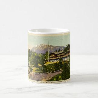 Lake McDonald Lodge Glacier National Park Classic White Coffee Mug