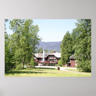 Lake McDonald Lodge - Montana Posters