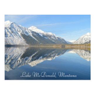 Lake McDonald, Montana Postcard Keepsake