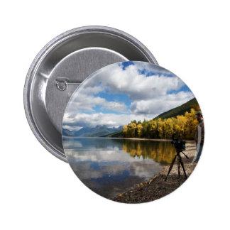 Lake McDonald MT Pinback Buttons